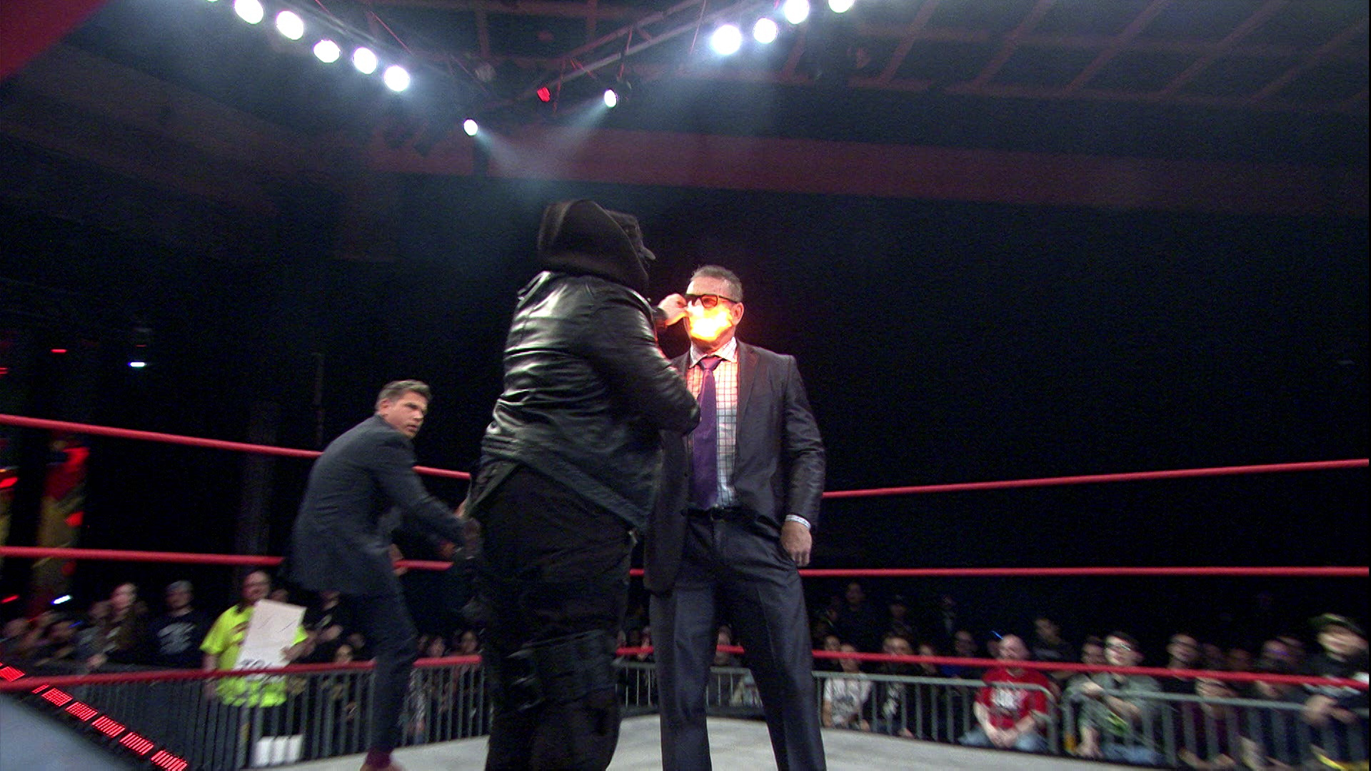 Sami Callihan destrói Ken Shamrock no IMPACT Wrestling