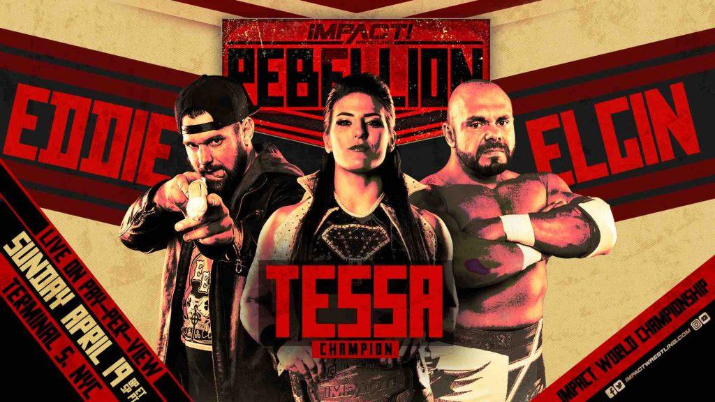 IMPACT Wrestling oficializa grande evento principal para o Rebellion
